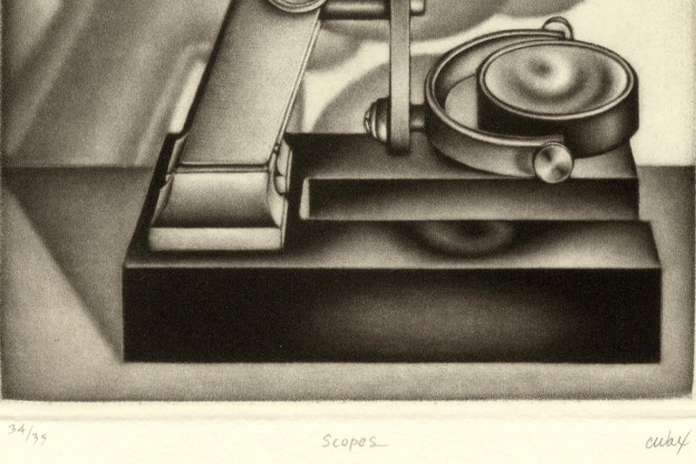 Scopes - Print by Carol Wax