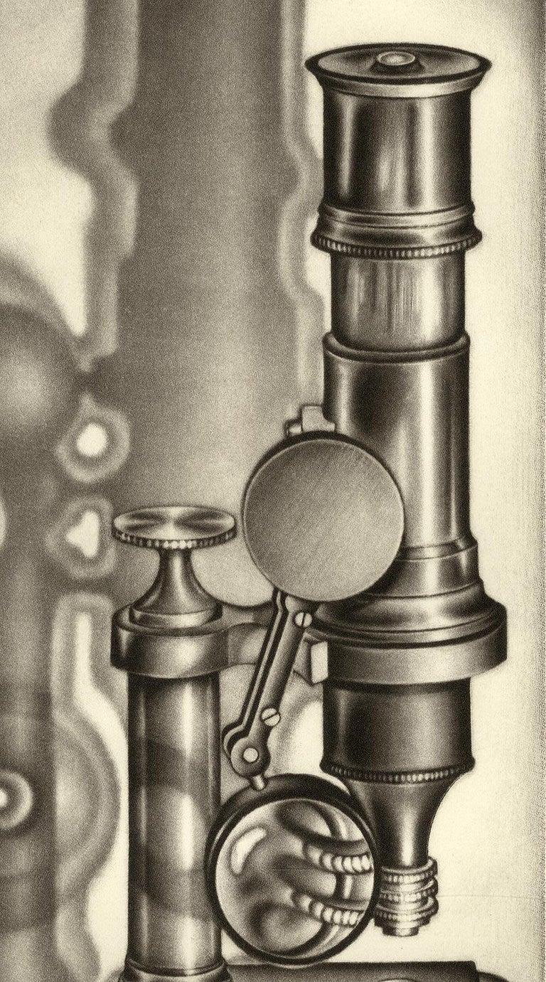 Scopes - American Modern Print by Carol Wax