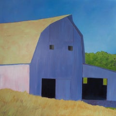 """Dutch Lilac,"" Contemporary Barn Painting"