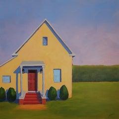 """""""Orient Cottage,"""" Contemporary Landscape Painting"""