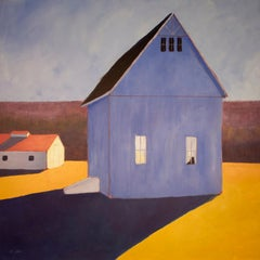 """""""Over Shadowed,"""" Contemporary Barn Painting"""