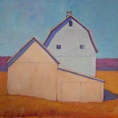 """Sensing Spring,"" Contemporary Barn Painting"