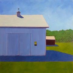 """Velvet Violet,"" Contemporary Barn Painting"