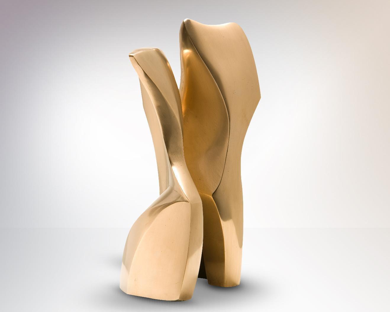 Bronze Sculpture 'Danza' by Carola Eggeling 'Polished Bronze'