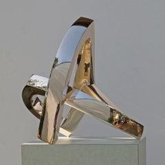 Bronze Sculpture 'O.T. VII' by Carola Eggeling 'Polished Bronze'