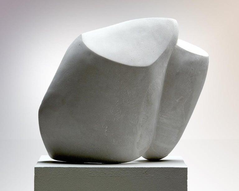 Concrete Sculpture 'Focus' by Carola Eggeling For Sale 1