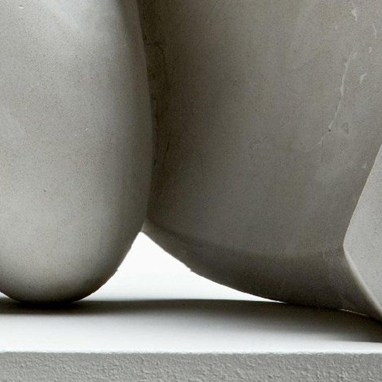 Concrete Sculpture 'Focus' by Carola Eggeling For Sale 2