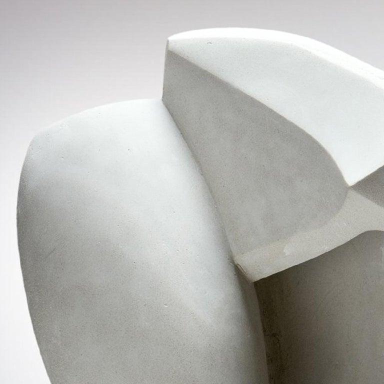 Concrete Sculpture 'Focus' by Carola Eggeling For Sale 3