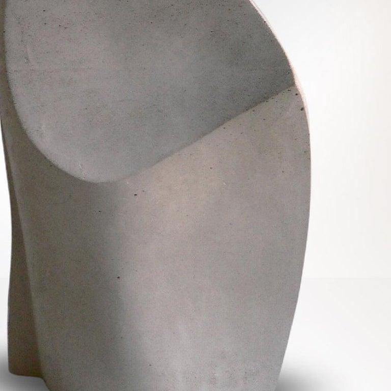 Concrete Sculpture 'Phönix II' by Carola Eggeling For Sale 2