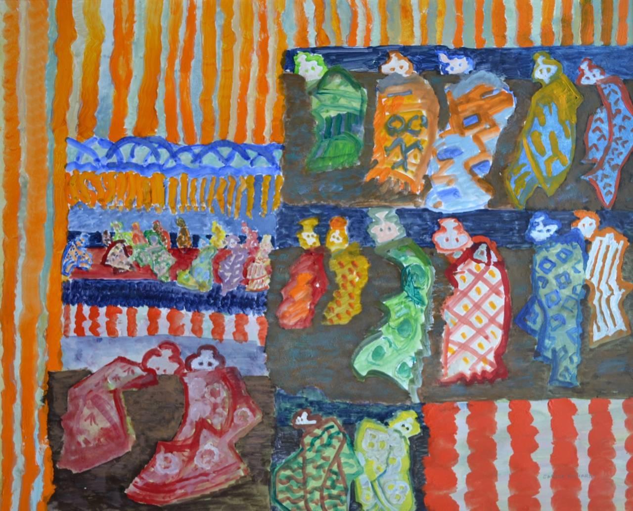 """Babushka"". Contemporary Painting"