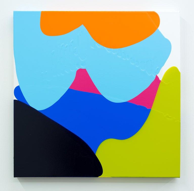 Carolanna Parlato Abstract Painting - Double Dealing