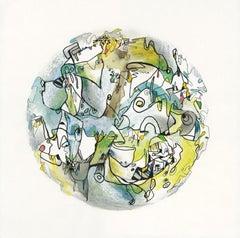 Le Météores 5 Art on Paper