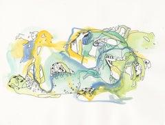 Petites Escales 12 Art on Paper, 2018