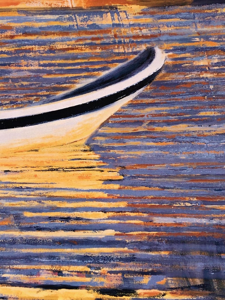 Carole Bolsey is a gifted, well-established painter, based in Boston whose work is included in collections all across the country. Her dynamic colors and brushstrokes are fresh and exciting and her canvases activated. She explores her themes of,