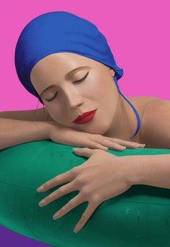 SERENA WITH BLUE CAP