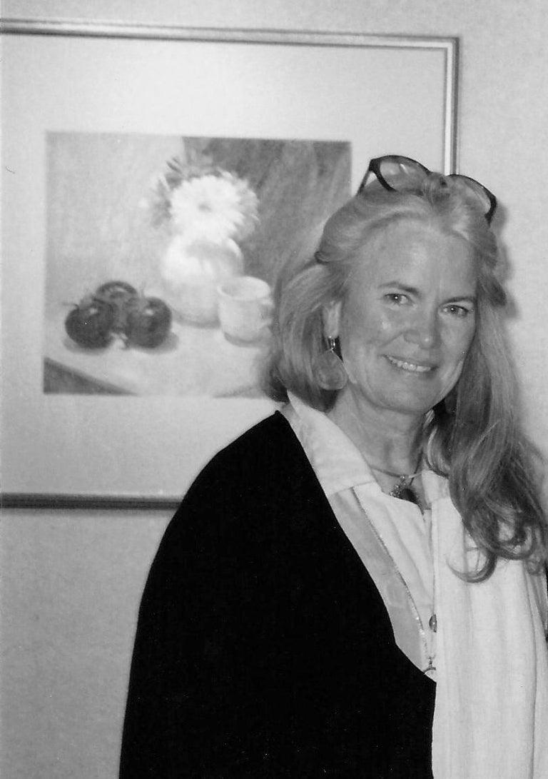 'Still Life with Pomegranates', California woman artist, Carmel Art Association For Sale 4