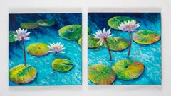 Reflections I and II, Original Painting