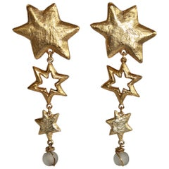 Carole Saint Germes Gold Star Statement Clips