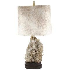 Carole Stupell Hollywood Regency Quartz Crystal Table Lamp