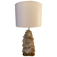 Carole Stupell Quartz Crystal Cluster Table Lamp