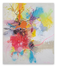 Corona Flowers (Abstract painting)
