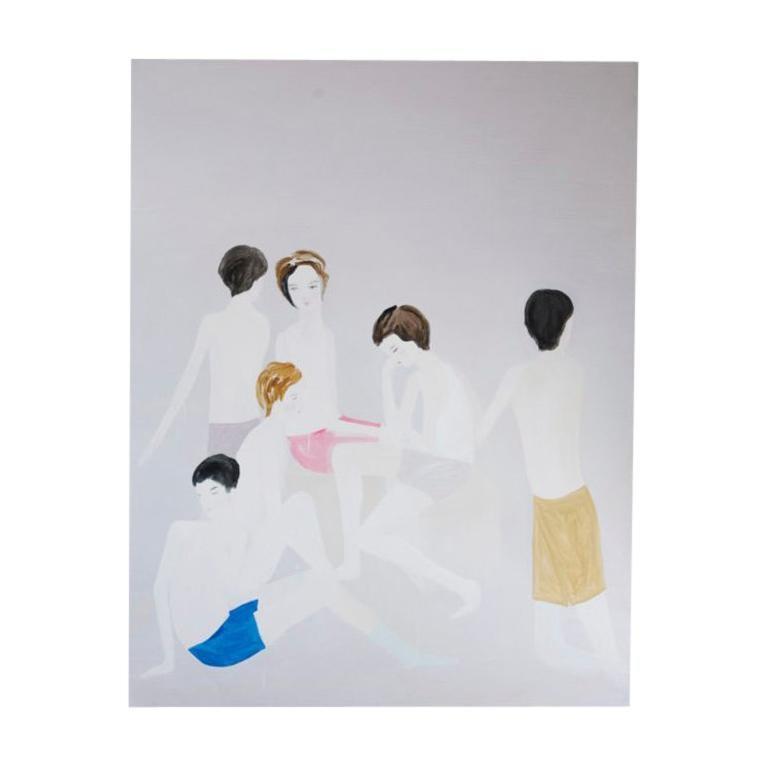 Carolina Antich, Jóvenes, Venice, 2019 For Sale