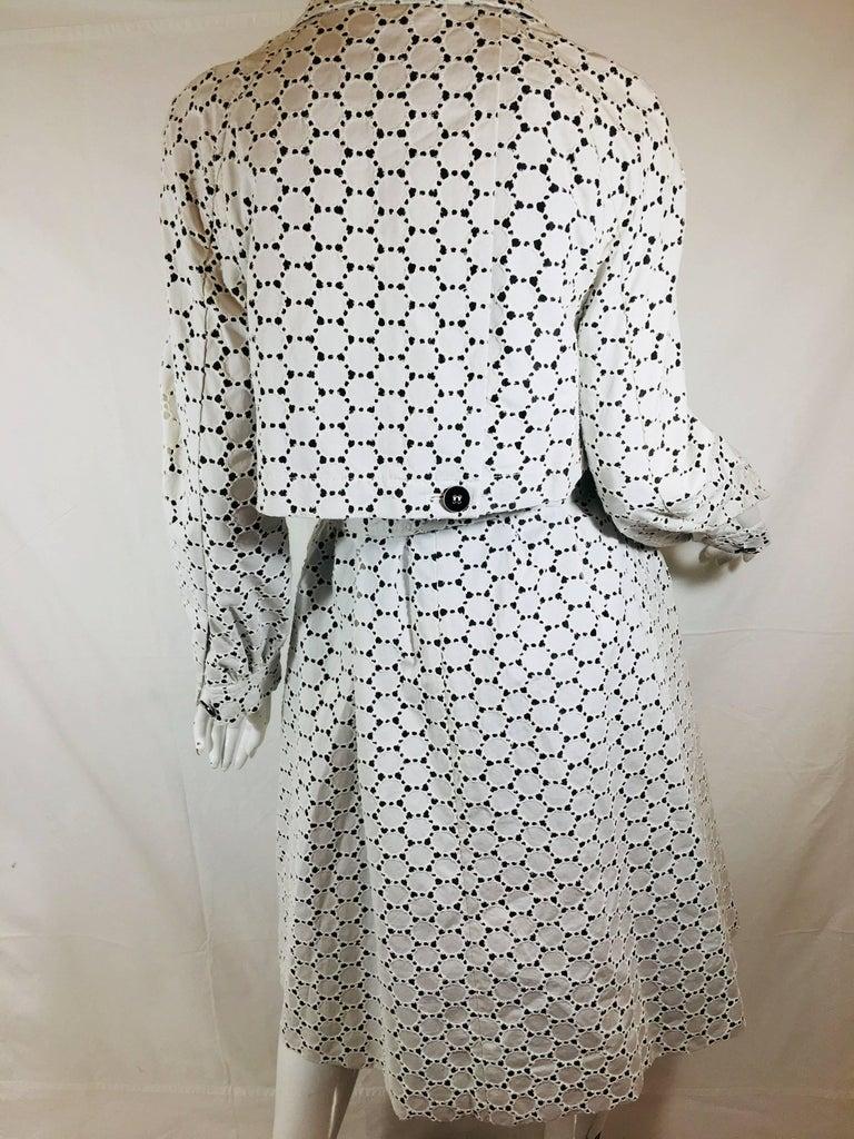 Carolina Herrera 2 Piece Dress and Jacket Set For Sale 13