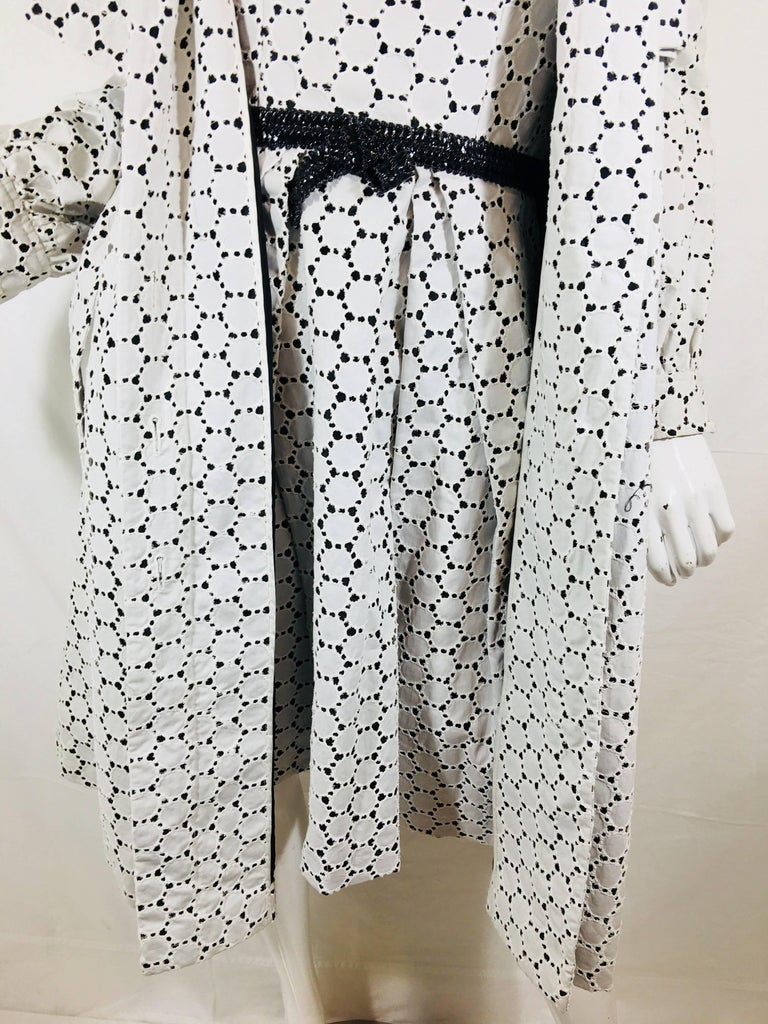 Carolina Herrera 2 Piece Dress and Jacket Set For Sale 15