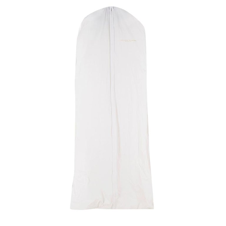 Carolina Herrera Faye Off The Shoulder Silk Faille Mermaid Gown XS For Sale 5