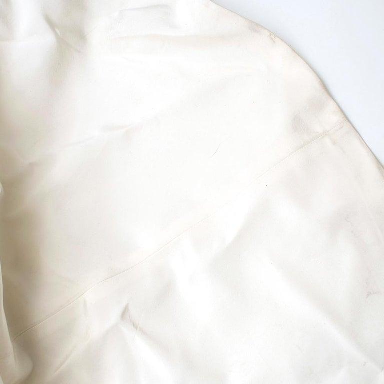 Women's Carolina Herrera Faye Off The Shoulder Silk Faille Mermaid Gown XS For Sale