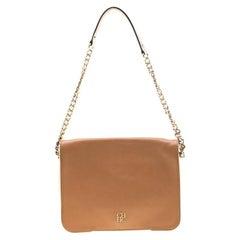 Carolina Herrera Multicolor Leather New Baltazar Flap Shoulder Bag