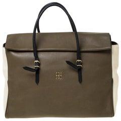 Carolina Herrera Multicolor Leather Tempo Collection Adagio Tote