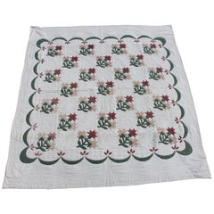 Carolina Lily Applique Quilt