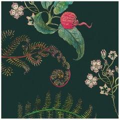 Carolina Blumen im Wald, Tropisch-botanische Tapeten