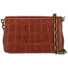 Carolina Santo Domingo Woman Shoulder bag Brown Leather