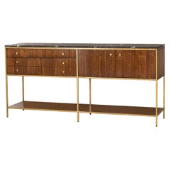 Carolina Sideboard with Black Marquina Marble Top