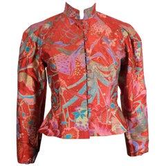 Caroline Charles Silk Jacket