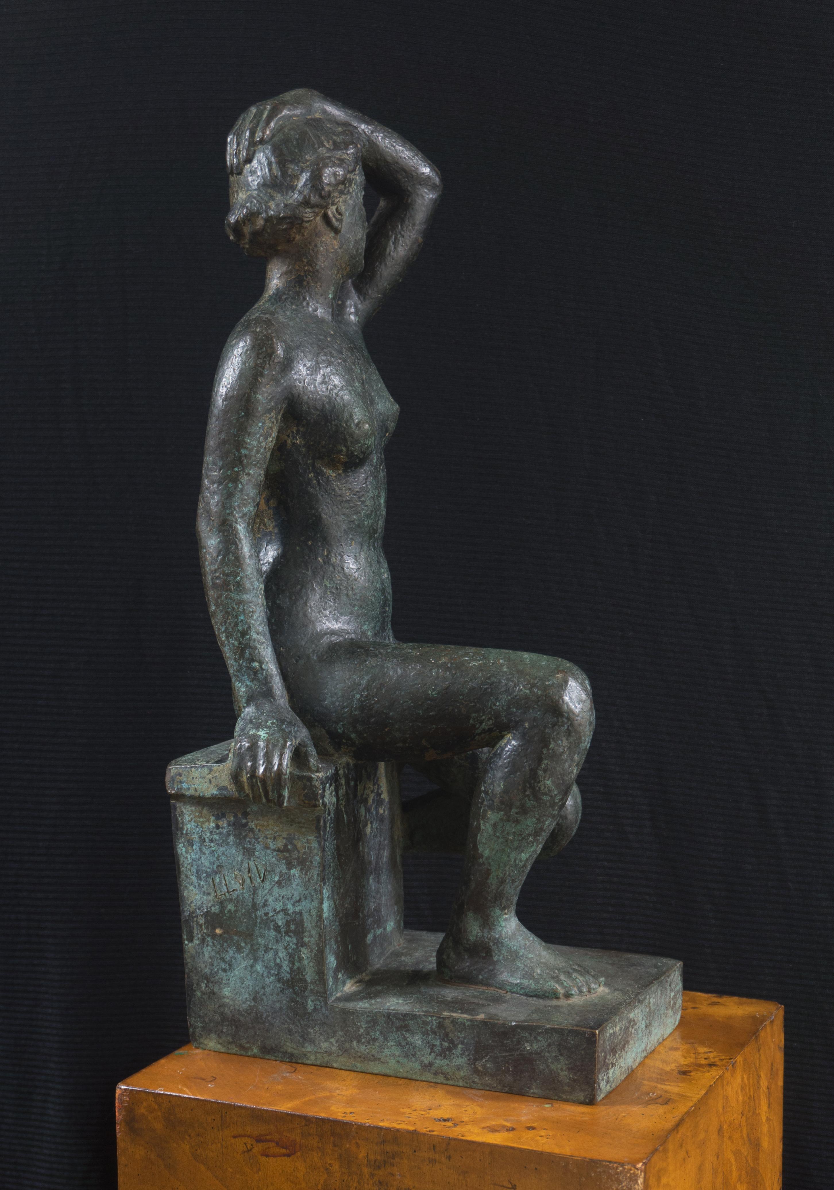 'Seated Nude', Woman Artist, Paris Salon, Jeu de Paume, World's Fair, GGIE LACMA