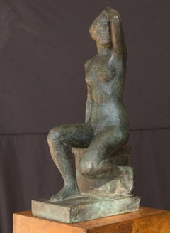 'Seated Nude', Woman Artist, Jeu de Paume, Paris Salon, World's Fair, GGIE LACMA