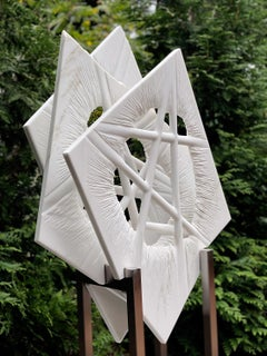"""""""INNER VIEW_Nexus_cellular"""", Organic, Abstract Marble Sculpture, Large Outdoor"""