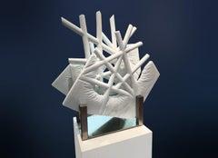 """""""INNER VIEW_Open_Nexus II""""  Organic, Abstract Marble Sculpture"""