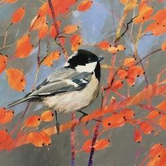 Carolyn Carter, Coal Tit, Affordable Art, Contemporary Bird Art,