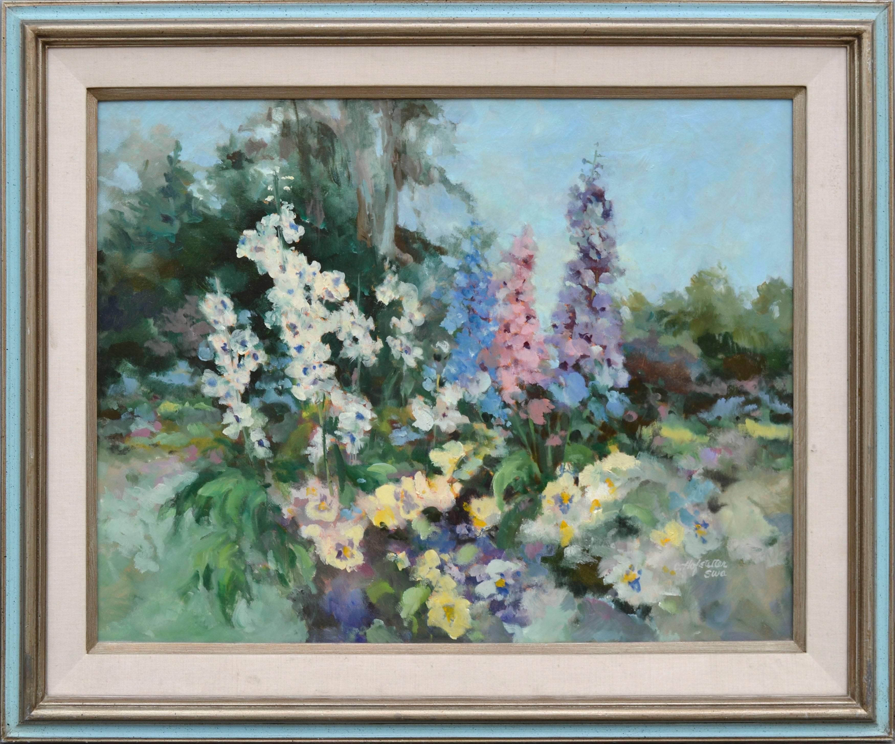 Garden in Bloom - Floral Landscape