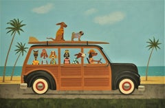 Surfin' Safari, Original Painting
