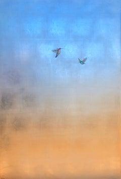 Hummers in Blue Sky II
