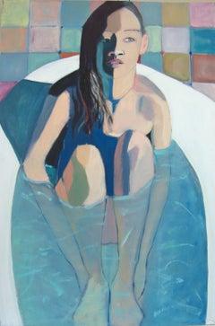 BATH, Painting, Oil on Canvas