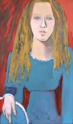 DUTCH GIRL, Painting, Oil on Canvas