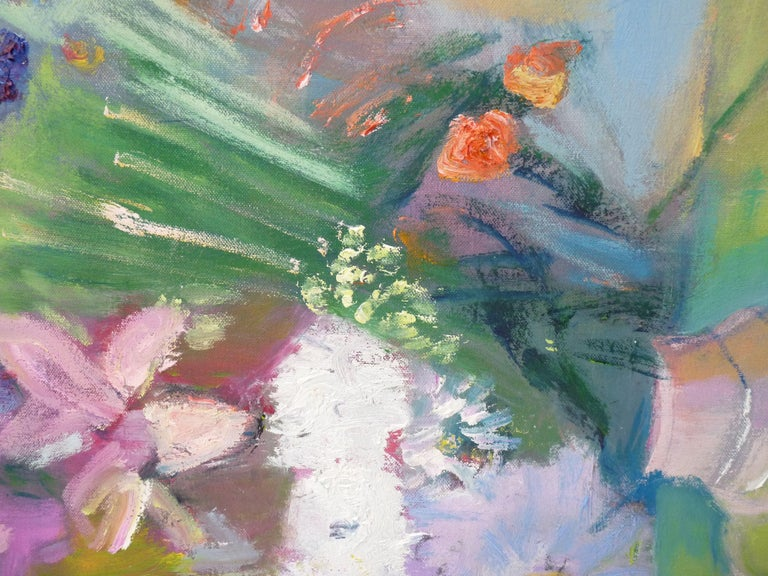 FLOWERPOT, Painting, Oil on Canvas For Sale 1