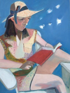 The Reader, Painting, Oil on Canvas