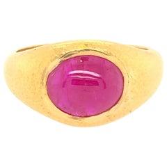 Carolyn Tyler Ruby Gypsy Ring